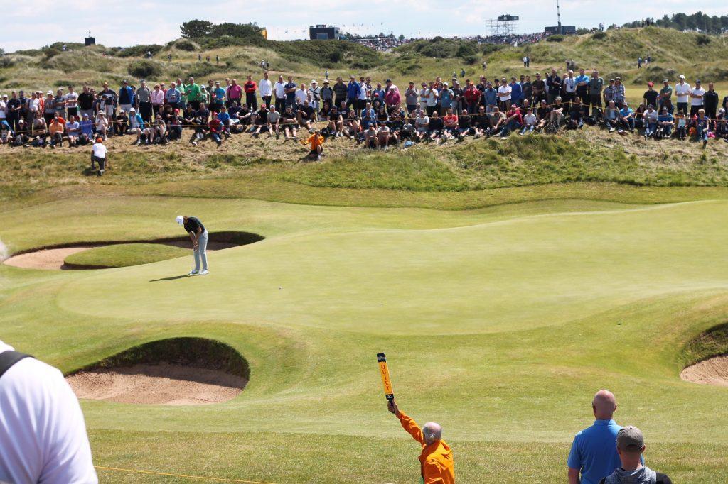 Golf spielen bei der Open Championship