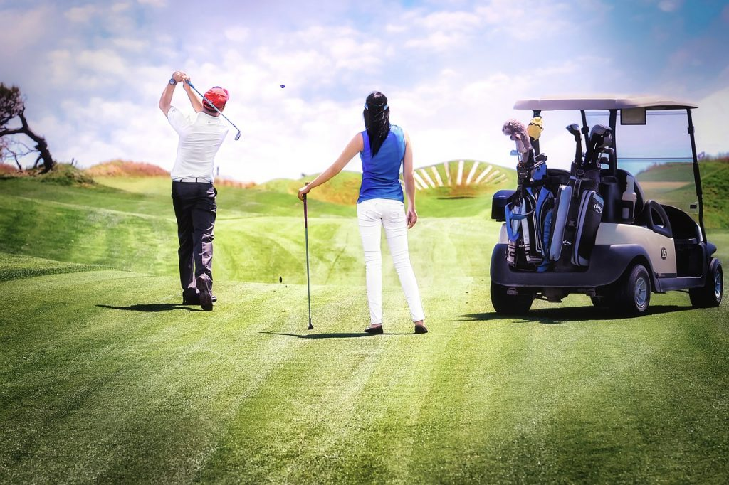 Platzreife auf dem Golfplatz