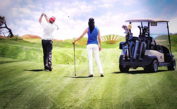 Golfspieler Handicap